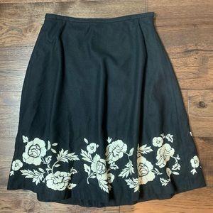 Boden Wool Blend Maxi Skirt